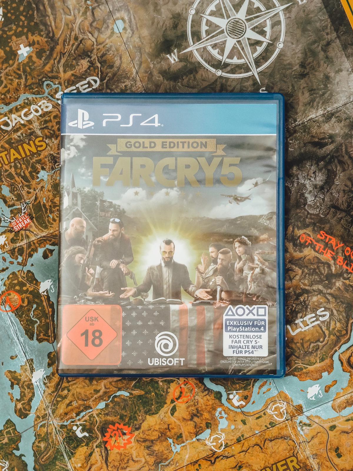 Die begehrte Far Cry 5 - Hope County MT Collectors Edition erschien am 27.03.2018. Unboxing der auf 6000 Stück limitierten Sammleredition auf dem Blog ✓