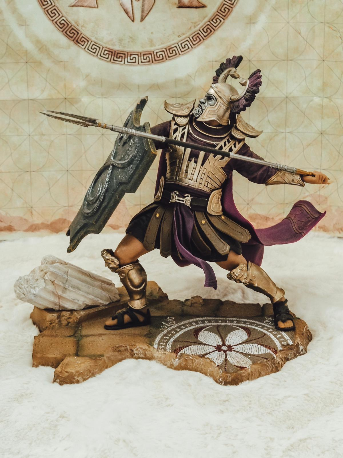 Heute gibt es ein top Unboxing der stylischen Assasins Creed Odyssey Pantheon Collectors Edition von Ubisoft Store und Ubicollectibles auf dem Gamer Blog ☆