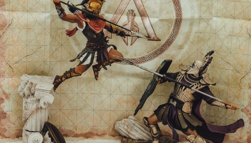 Assasins Creed Odyssey Pantheon Collectors Edition von Ubisoft Unboxing ☆