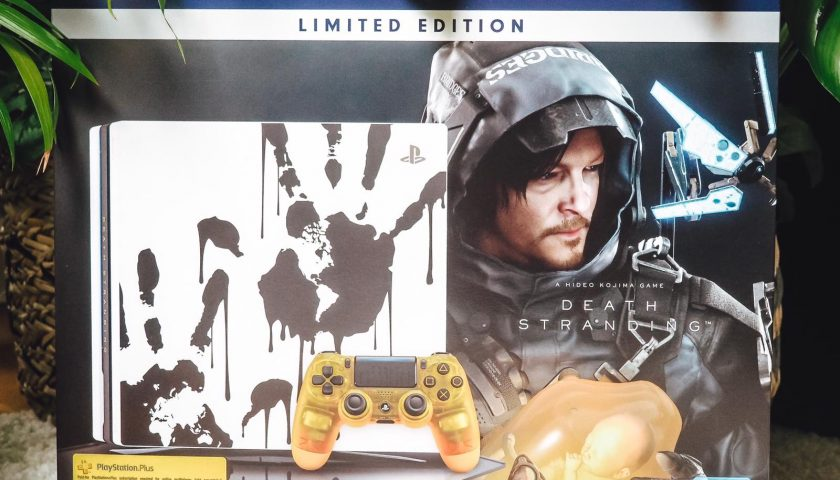 Die neue PS4 Pro Death Stranding Limited Edition
