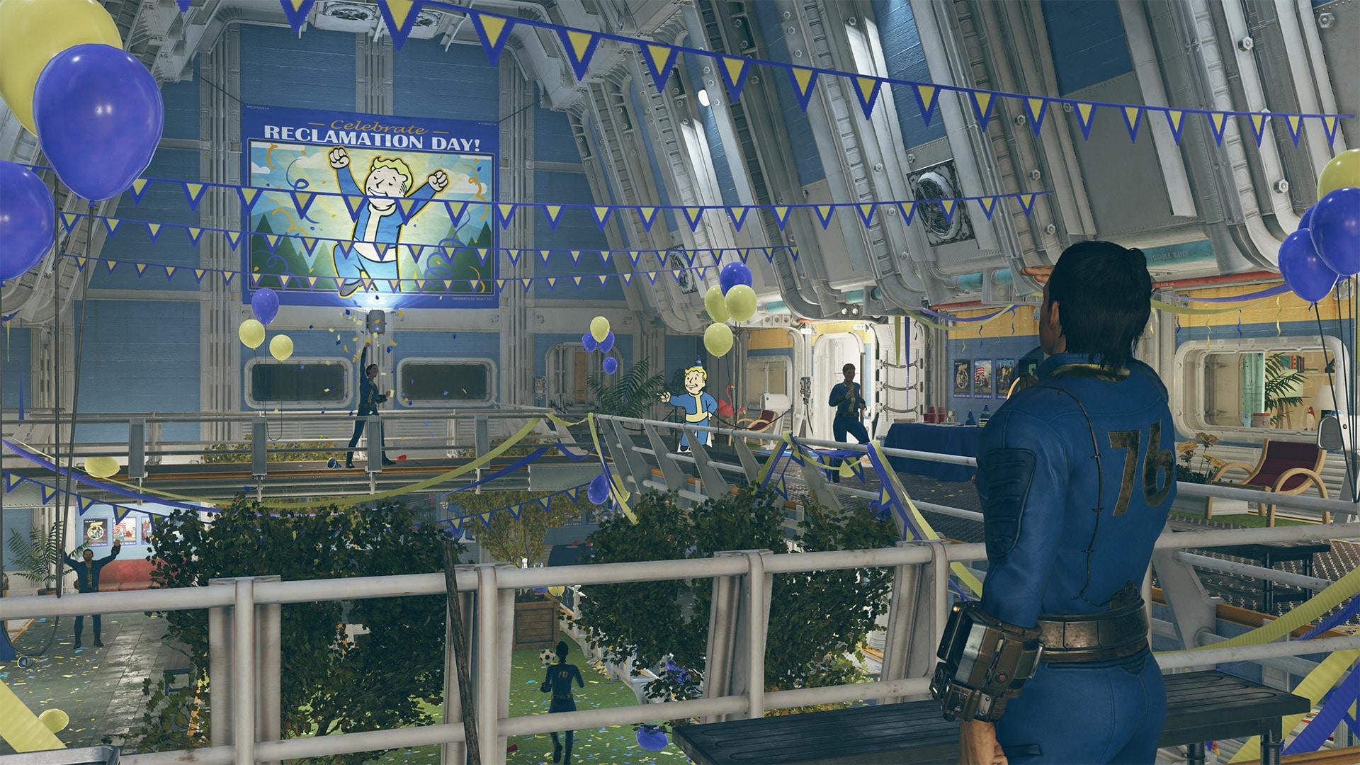 Der Rückeroberungstag in Fallout 76