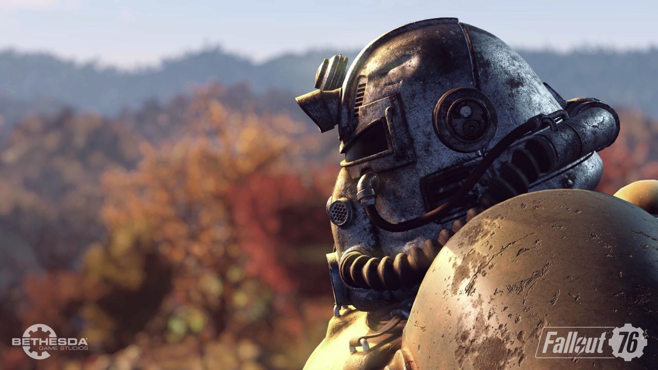 Fallout 76 Power Armour Maske