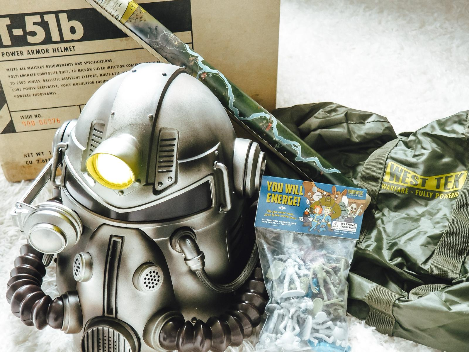 Die Collectors Edition Fallout 76 Power Armor Edition.