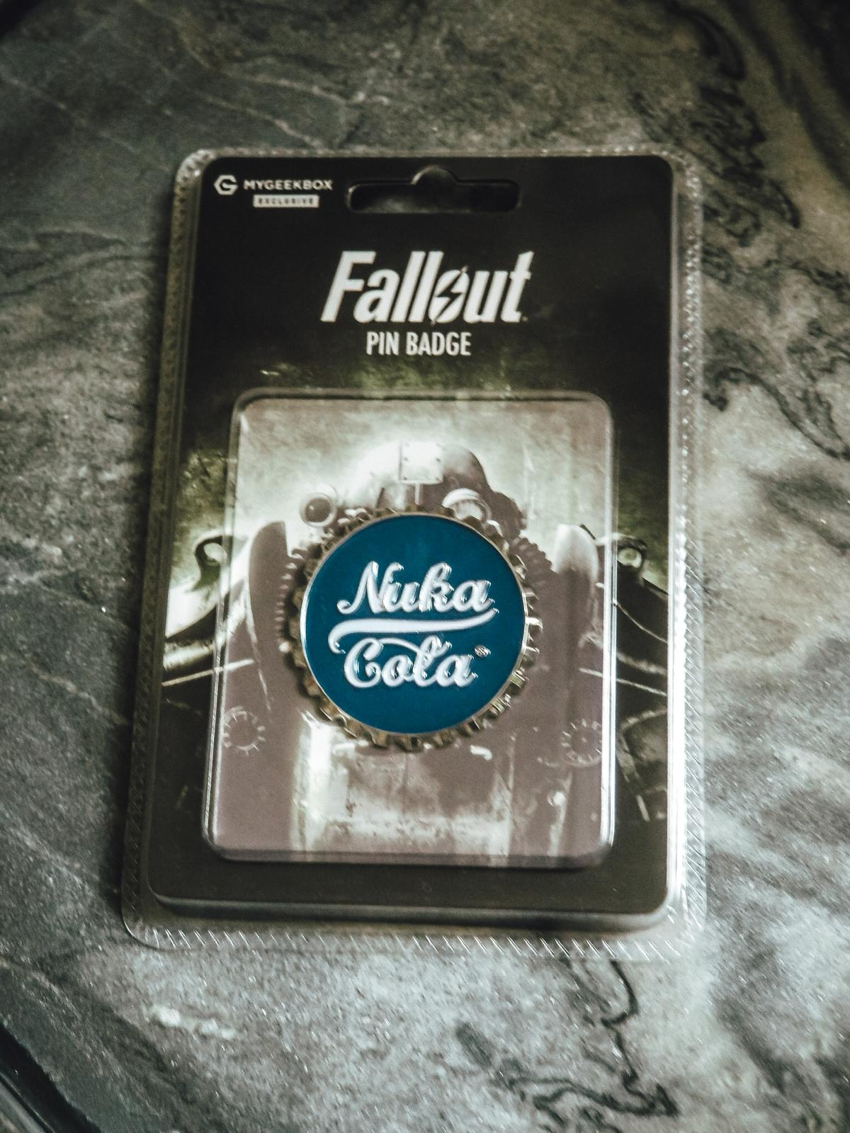 Nuka Cola Pin.