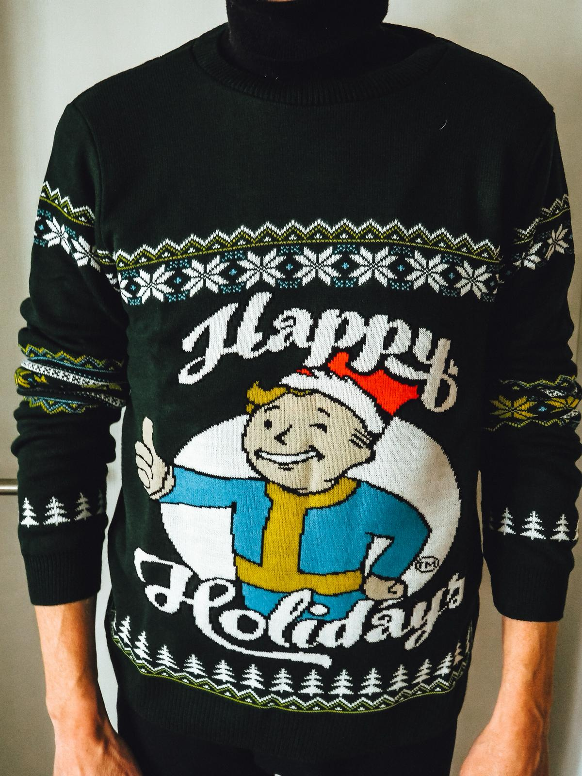Fallout Happy Holiday Knitted Christmas Jumper von Zavvi