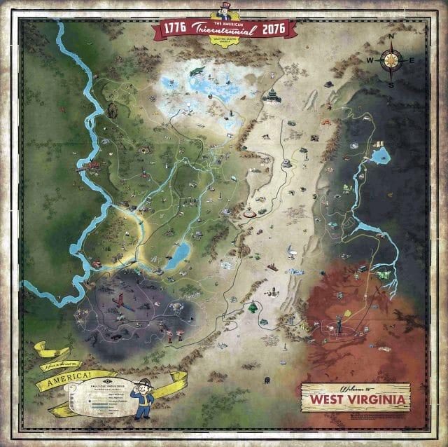 Fallout 76 Karte