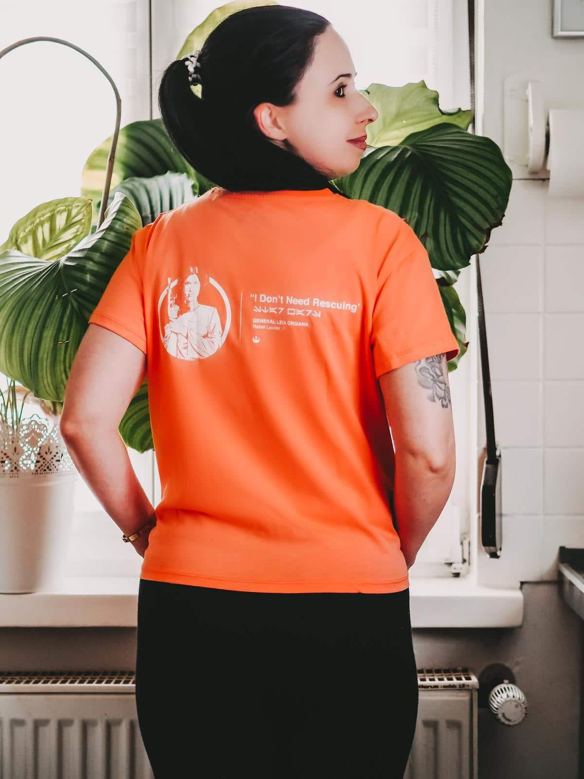 Neue Kollektionen von Zavvi - Star Wars T Shirt Rückenansicht