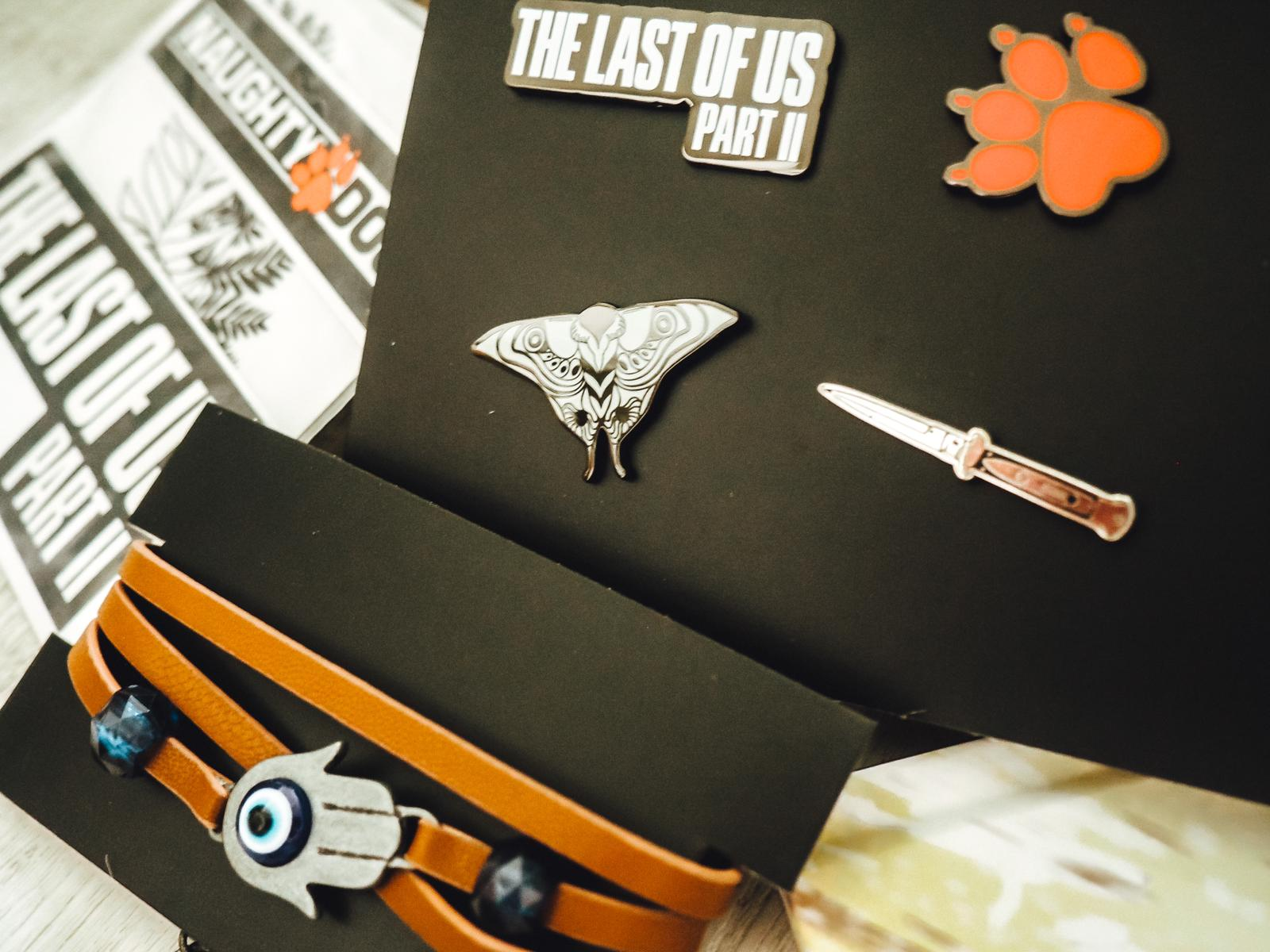 The Last of Us 2 Collectors Edition Pins Set