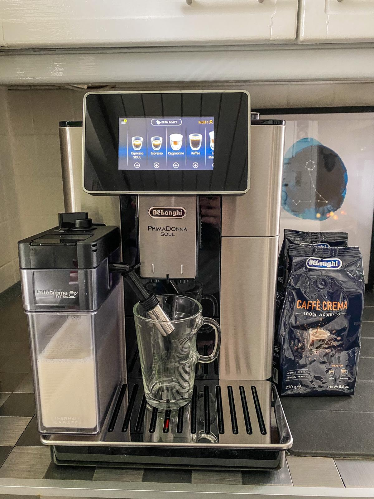 Hochwerter Kaffeegenuss mit DeLonghi