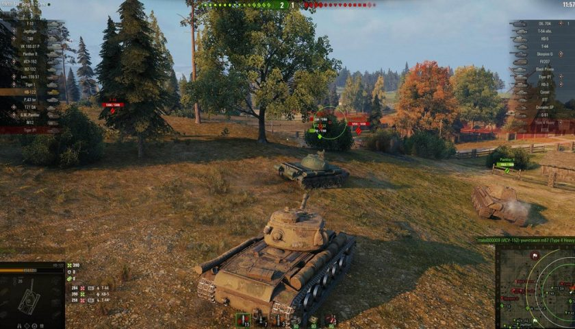 2010 erschien das Multiplayer Online Game World of Tanks.