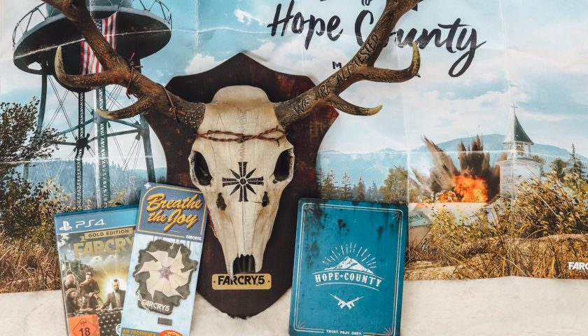 Far Cry 5 - Hope County MT Collectors Edition Unboxing ✓