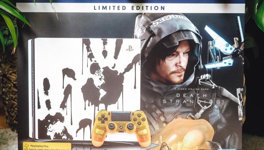 Die neue PS4 Pro Death Stranding Limited Edition